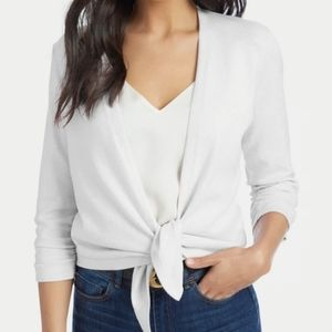 NEW 89th & Madison Bleached White Cardigan